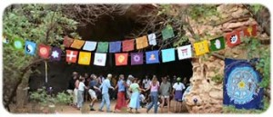 The Spirit of the Cave. Canyonlands Dances of Peace retreat.